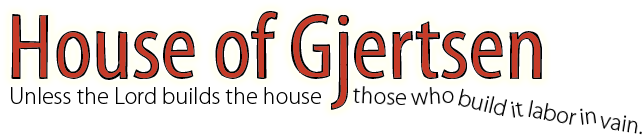 House of Gjertsen Logo